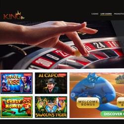 Kingbit, casino en ligne 100% Cryptos