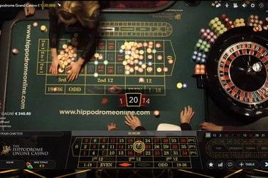 Roulette de casino en direct du Hippodrome de Londres