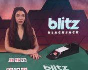Jeu Blitz Blackjack sur le casino live Fatboss