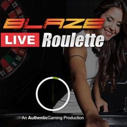 Roulette en live Blaze Roulette sur Casino Extra