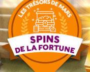Spins de la fortune sur Cresus Casino
