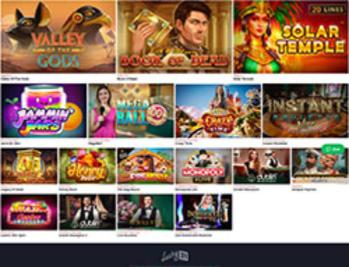 Les jeux de Lucky31 accessibles sur mobile