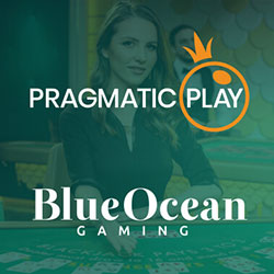 Pragmatic Play Live et Blue Ocean Gaming