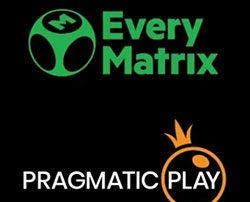Pragmatic Play Live Casino et EveryMatrix
