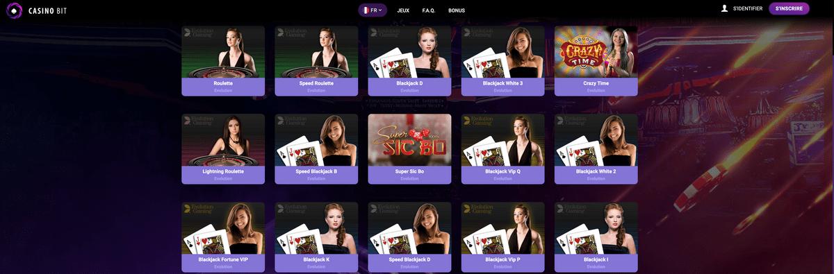 CasinoBit est un casino en ligne Bitcoin et cryptos