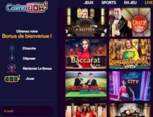 Les logiciels de jeux en live sur Casino360