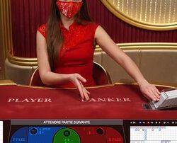 les 17 tables de Speed Baccarat accessibles sur le live casino Fatboss