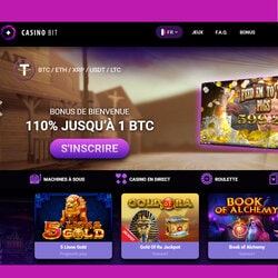 CasinoBit est le meilleur casino en ligne en Bitcoin du Net