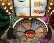 Roue de la Fortune Crazy Time disponible sur MrXbet